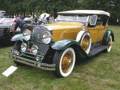 1928 Cadillac Type 341A  Dual Cowl Phaeton