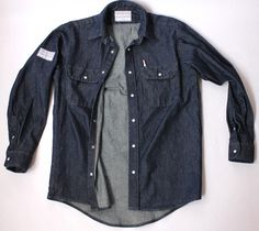 The Lomas Brand- Workman Denim Overshirt