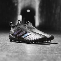 premium selection 72264 a9fae Sepatu Bola Adidas ACE 17+ Purecontrol FG Core Black Utility Black 100%  Original 2017