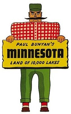 Paul Bunyans Minnes