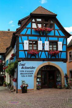 Eguisheim, Alsace Region, France