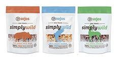 Sojos Simply Wild Freeze Dried Raw (Treat Variety Pack, 2.5oz - Pack of 9)