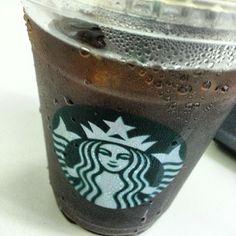 #ice #caffeamericano for sleepy head. no #sugar #icedcoffee #starbuckscoffee #drink #philippines 眠すぎちゃうんで#アイスコーヒー #スターバックスコーヒー #フィリピン