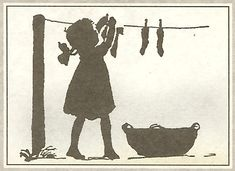 Hanging Laundry by peagreengirl, via Flickr