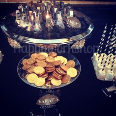 Great gatsby party candy buffet