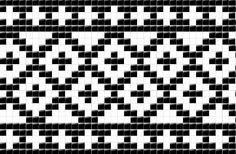 #Nordfjord. Tapestry Crochet Patterns, Crochet Motifs, Filet Crochet, Crochet Chart, Loom Patterns, Stitch Patterns, Knitting Charts, Knitting Stitches, Knitting Patterns