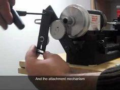 Sherline Thread Cutting Attachment