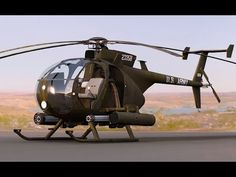 The AH-6 Little Bird Helicopter