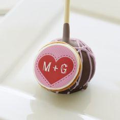 Valentine's Stitched Heart Initials