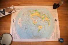 Vintage Amateur Radio Map