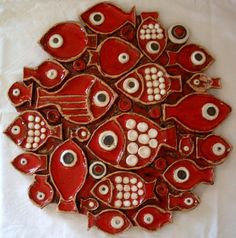 Ceramic Wall Plaque by paz 9999, via Flickr