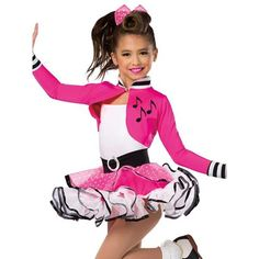 20167 Shake Rattle And Roll - Dance Leotards Dance Recital Costumes, Girls Dance Costumes, Jazz Costumes, Dance Outfits, Kids Outfits, Cute Girl Dresses, Little Girl Dresses, Preteen Girls Fashion, Girl Fashion
