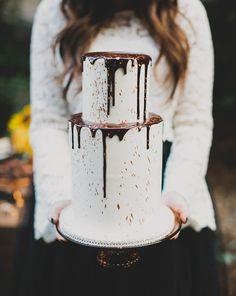 Dripping Halloween Cake