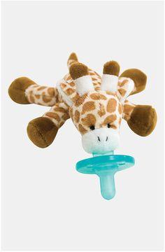 pacifier giraffe toy