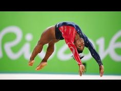 Simone Biles With 10 Gold Medals - August 9, Rio Olympics 2016 Gymnast J...