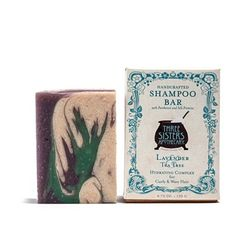 Lavender & Tea Tree Moisturizing Bar - Shampoo Bar - Three Sisters Apothecary