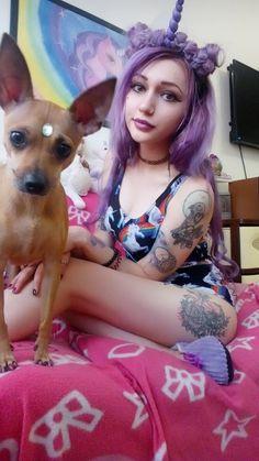 #tregerunicorn #kawaii  #kawaiigirl  #girl #girlnice #webpunk #webgirl #hair #haircolor #purplehair #tattochoker #omsk #blackstyle #clothes #tattoogirl #tattoo #омск #blackstyle #blackclothes #violethair #tattoos ##bodycool #body #hairlong #kneehigh #kneesocks #bartsimpson