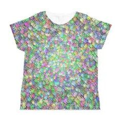PASTEL HEMP Women's All Over Print T-Shirt > ALL OVER PRINT T-SHIRTS > Designs By AlienWear.com Online Store