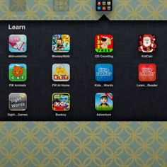 Favorite iPad / iPhone apps: educational for pre-k and kindergarten #kids