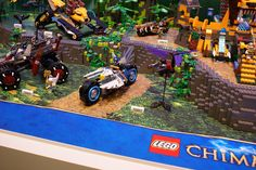 Lego Chima - 70007: Eglor's Twin Bike
