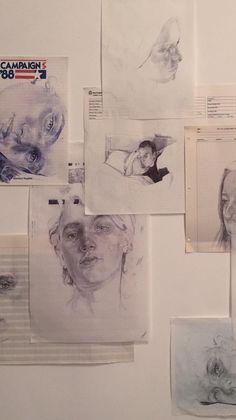 Drawing heart broken people New Ideas Art Sketches, Art Drawings, Arte Sketchbook, Art Hoe, Art Inspo, Cool Art, Art Photography, Illustration Art, Artsy