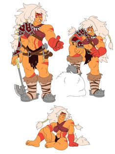 Jasper from Steven Universe as a Barbarian -------------- Steven Universe Pilot, Jasper Steven Universe, Steven Universe Theories, Greg Universe, Universe Love, Universe Images, Universe Art, Character Concept, Character Art