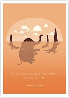 Famous Quotes Illustrated by Tang Yau Hoong http://www.behance.net/tangyauhoong I love the simplicity in his designs.