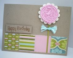 Blush Crafts: A Card From Almost Nothing...