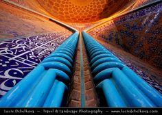 500px / Iran - Esfahan - Isfahan - Interior of Sheikh Lotf Allah Mosque (Masjed-e Sheikh Lotf-o-llah) by Lucie Debelkova - Travel Photograph...