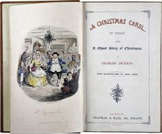 """One of Charles Dickens' best-known works """"A Christmas Carol In Prose: Being A Ghost Story of Christmas"""" was published in 1843, a time when Christmas was not"""
