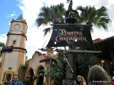 Pirates of the Caribbean, Adventureland, Magic Kingdom, Walt Disney World