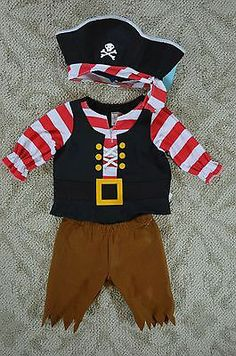 Get the work done right once you shop occupation costumes for men! The key to a homemade costume isn't to make the entire thing froms cratch. At this point you have a homemade parrot costume which is going to be… Continue Reading → Toddler Pirate Costumes, Twin Costumes, Pirate Kids, Pirate Halloween Costumes, First Halloween, Baby Halloween Costumes, Pirate Birthday, Pirate Theme, Pirate Party