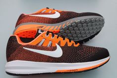 best website 9d0fb 06595 Nike Air Zoom Structure 20 Running Trainers Black Orange 849576   002 Rare    Trainers   Men s Shoes