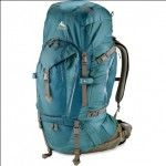 Backpacking. Great women's pack. Also the link is to a good women's hiking site.     But I'm not a woman, so I can't really say if the pack is great or the website good.     I can say my mens Gregory pack is great.