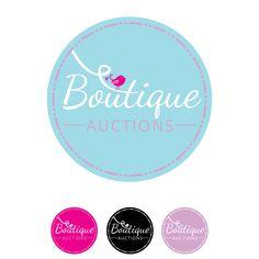 #feminine #logo #creative #design #boutique #auctions Logo design #14 by Gobbeltygook