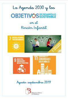 Selección de libros de la Sección Infantil sobre los objetivos 7, 9 y 11 September, Day Planners, Reading