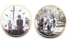 Fotografias bordadas, uma ótima maneira de eternizar memórias e decorar a sua casa. Conheça o trabalho de Renata Malachias do Estúdio Manitu.