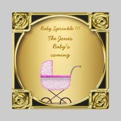 Baby Sprinkle Baby Shower  invitation by invitesnow