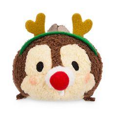 Chip ''Tsum Tsum'' Plush - Holiday - Mini - 3 1/2''