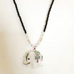 Tribal Elephant Necklace - BONYHUB - 1