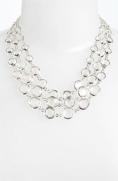 Anne Klein 'Beacon' Bib Necklace available at #Nordstrom