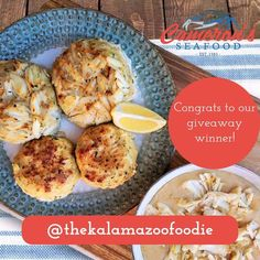Congratulations to our crab cake giveaway winner @thekalamazoofoodie !!!  Thanks to all those who entered our contest and stay tuned for more giveaways in the near future  HAPPY FRIDAY! . . . #seafood #buzzfeedfood #buzzfeast #crabs #crablegs #f4f #foodie #foodporn #cameronsseafood #seafood #fish #bluecrab #huffposttaste #crablegs #forkyeah #eater #maryland #scallops #boil #crabcakes #lobster #grilled #eattheworld #tgif #foodblogger #crab #shrimp #foodgasm #crabboil @healthycook4champions…