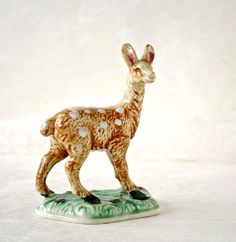Vintage Ceramic Kakusan Fawn Figurine by TheOtherLifeVintage, $7.00