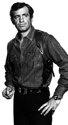 Jean-Paul Belmondo Hollywood Men, Hooray For Hollywood, Cinema Tv, Delon, Good Old Times, Celebrity Portraits, Steve Mcqueen, Classic Movies, Movie Stars