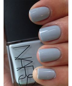 """Inspiration for your wedding's """"something blue"""" from Pinterest: NARS blue nail polish"""