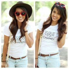 Coco Chanel Tees Stylegirl Boutique www.stylegirlboutique.com
