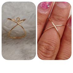 Knuckle/Mid Wire Ring by shopenvyme2013 on Etsy, $2.50. Use coupon code: PINTEREST to receive 20% off your purchase.