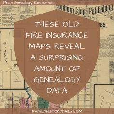 Old fire insurance maps reveal a surprising amount of genealogy data.