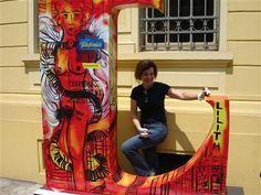 Lilith, 2009, Corredor Literário na Av. Paulista Cabala Judaica, Ceramic Sculptures, Contemporary Art, Hall Runner, Paintings, Artists