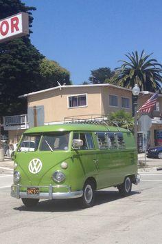 VW Bus in Summerland Ca....